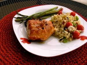 Barbecue Alaskan Salmon