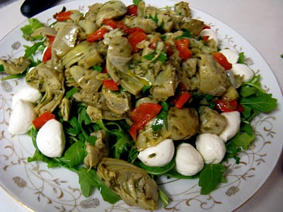 Roasted Artichoke Salad